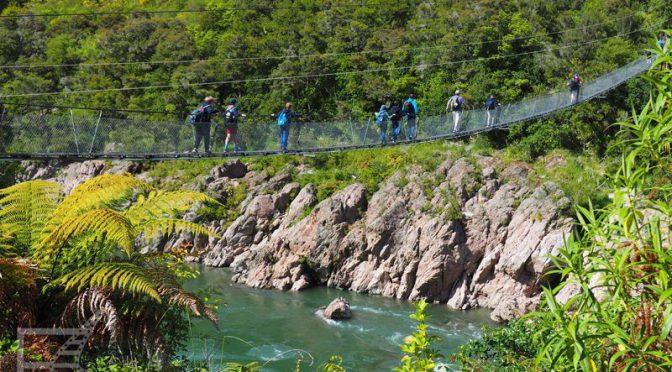 Wąwóz Buller i najdłuższy most wiszący Nowej Zelandii