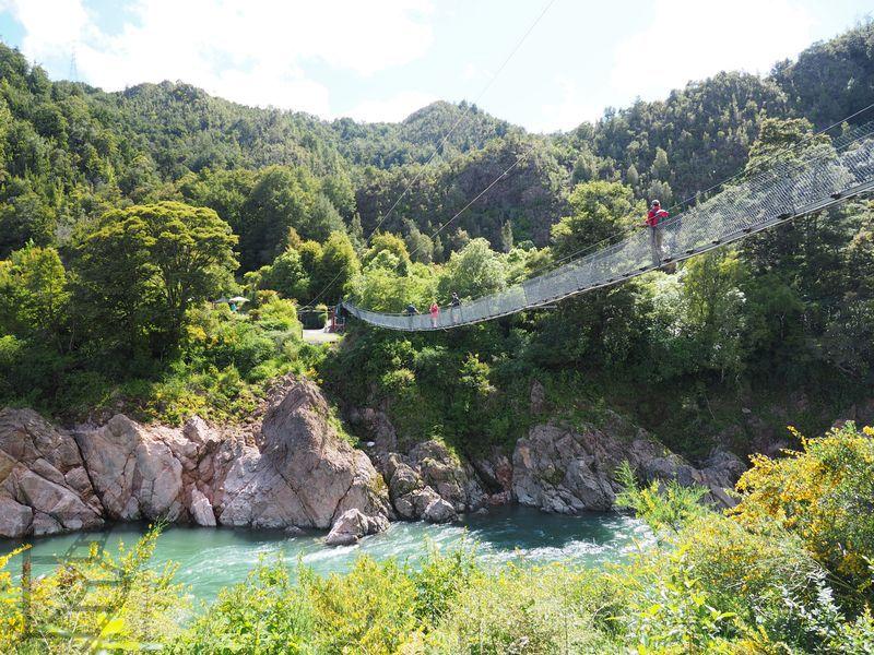 Najdłuższy most wiszący w Nowej Zelandii