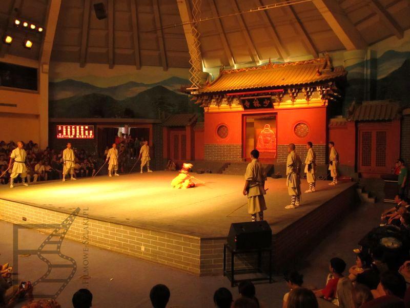 Pokaz walk w Shaolin