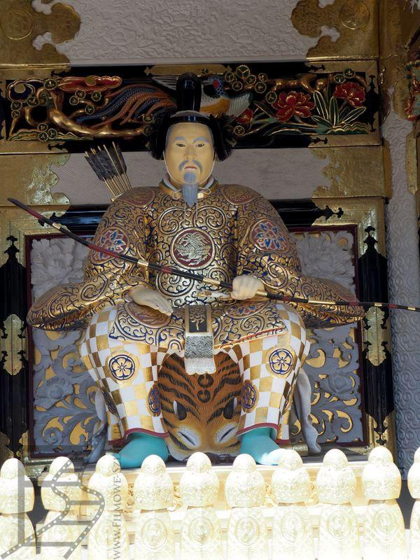Rzeźba wojownika w Tōshō-gū (Nikko)