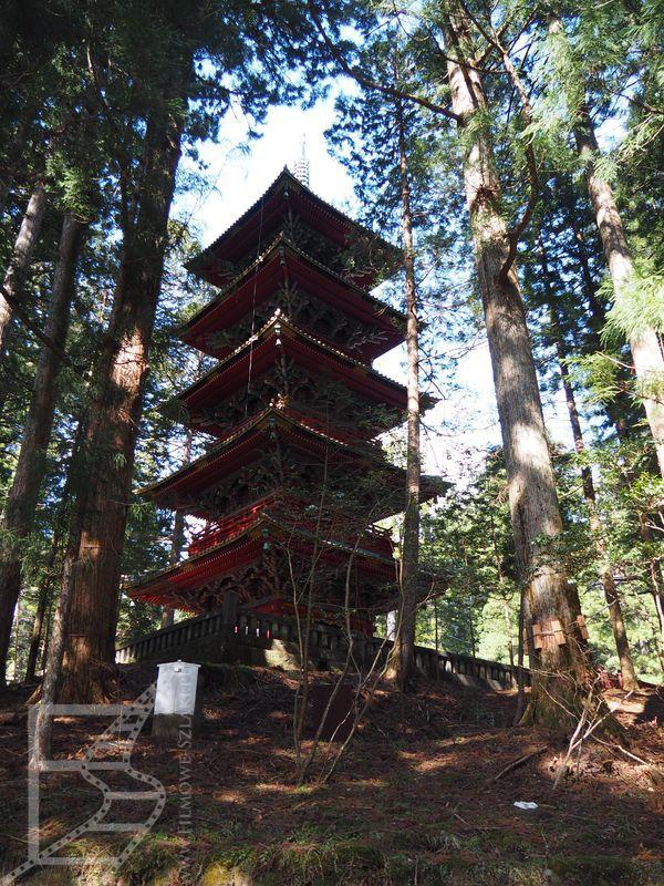 Pagoda przy Tōshō-gū