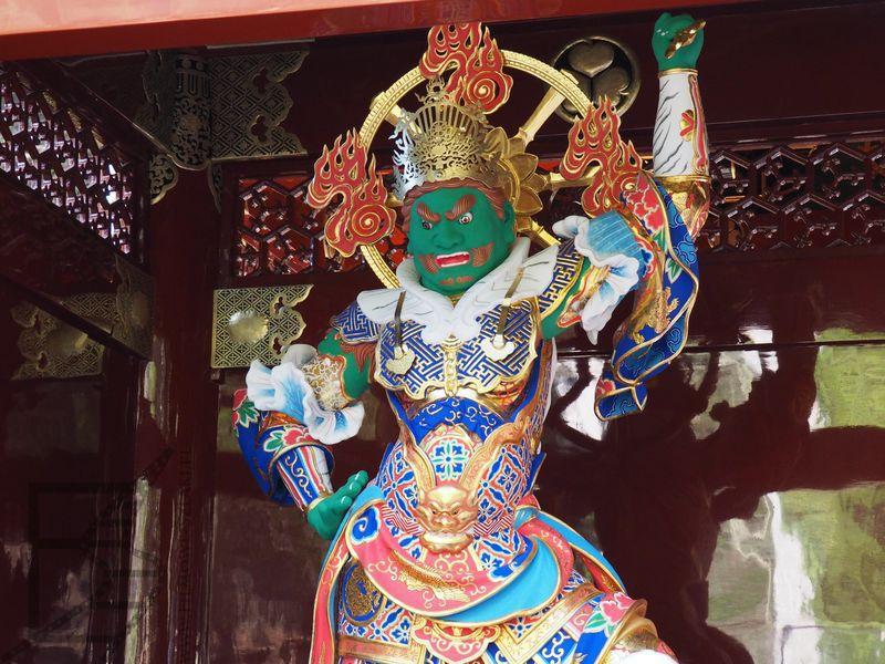 Niō lub Kongōrikishi, czyli demoniczny strażnik świątyni