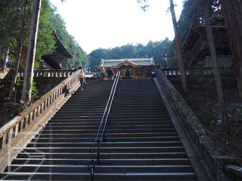 Schody do Taiyū-in