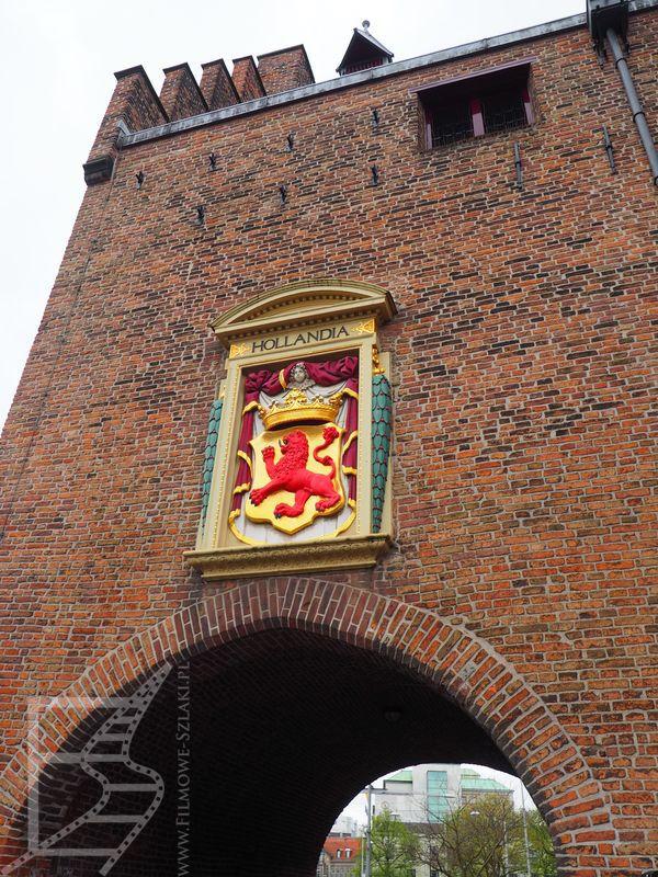 Haga - wejście do Binnenhof i Hollandia