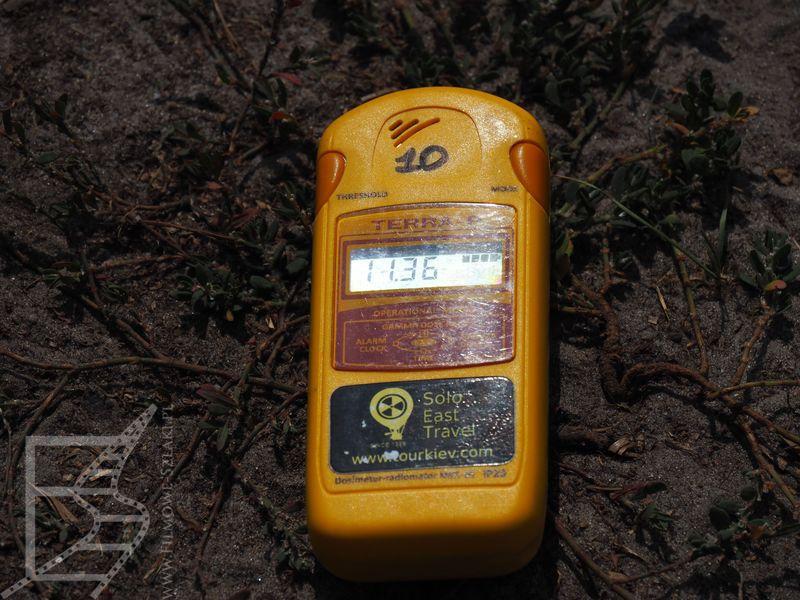 Podwyższone wskazania na liczniku (Czarnobyl)