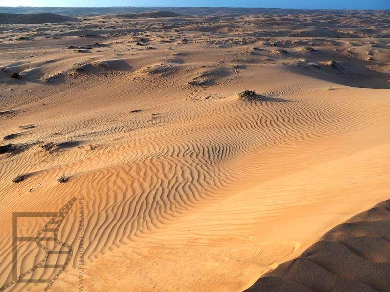 Piaski na pustyni w Omanie