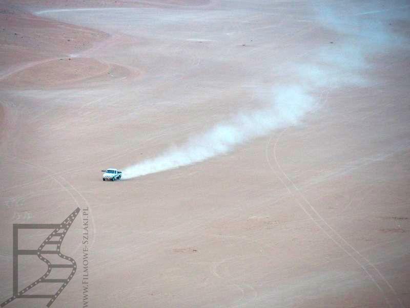 Przejazd przez pustynię