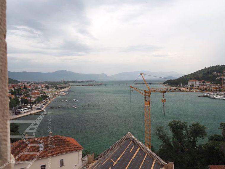 Widok z wieży katedry (Trogir)