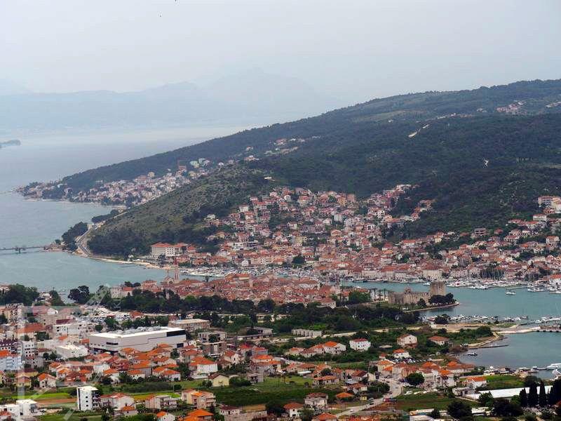 Widok na Trogir
