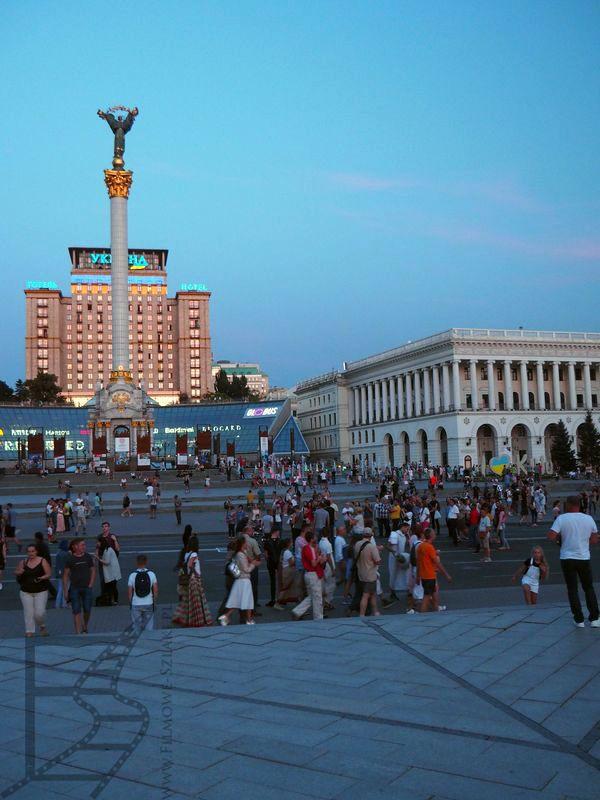 Majdan Niepodległości - Kijów