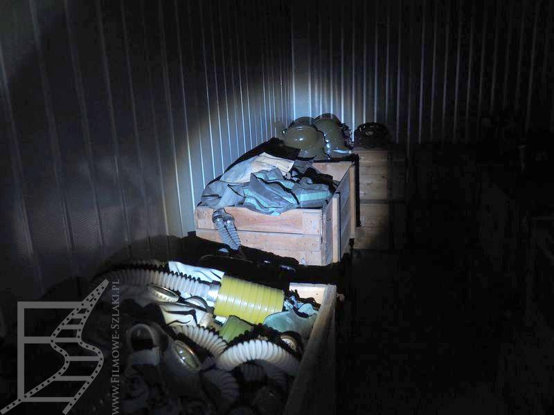 Poradziecki schron przeciwatomowy w Kijowie