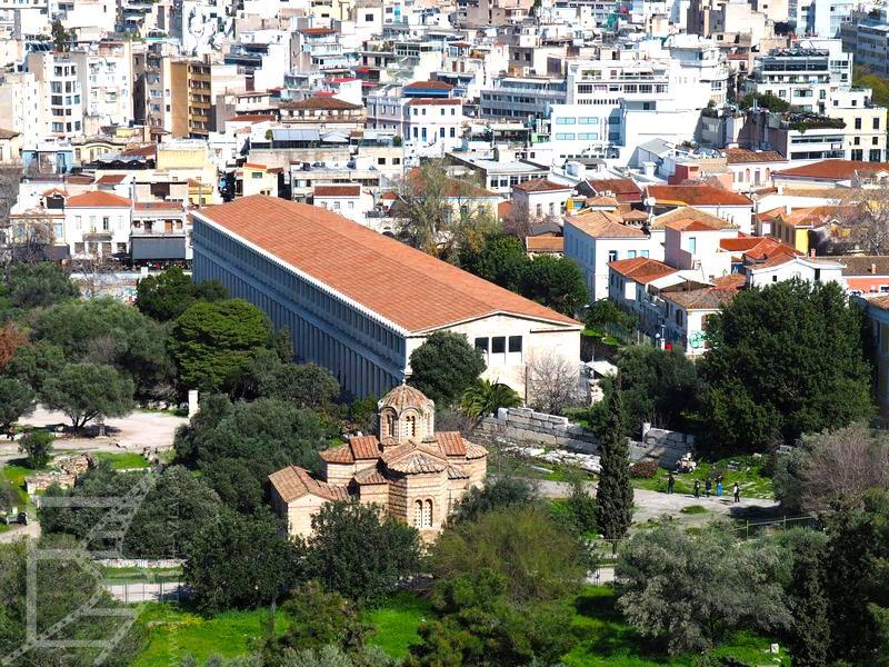 Stoa Attalosa na Greckiej Agorze