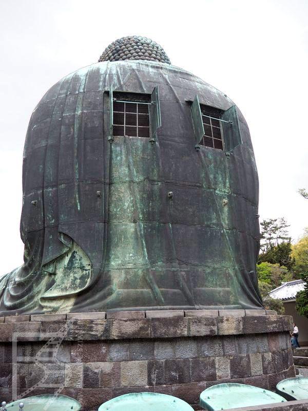 Wielki Budda od tyłu