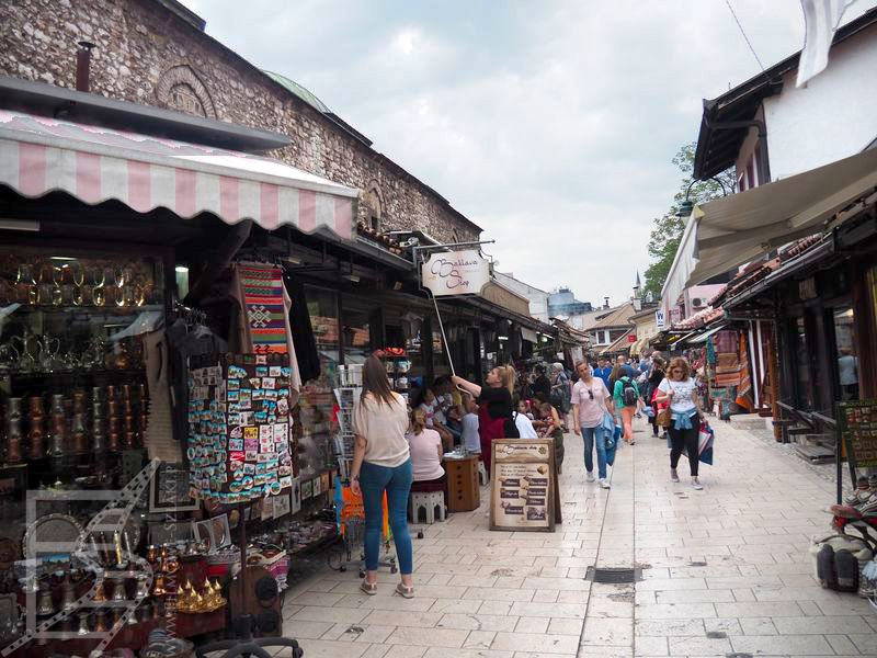 Bascarsiji, Sarajewo