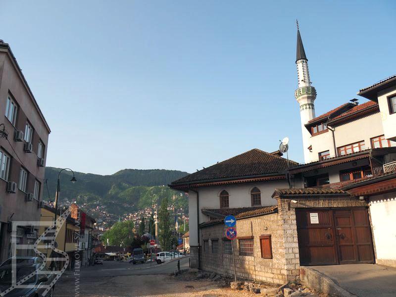 Widok ma Sarajewo