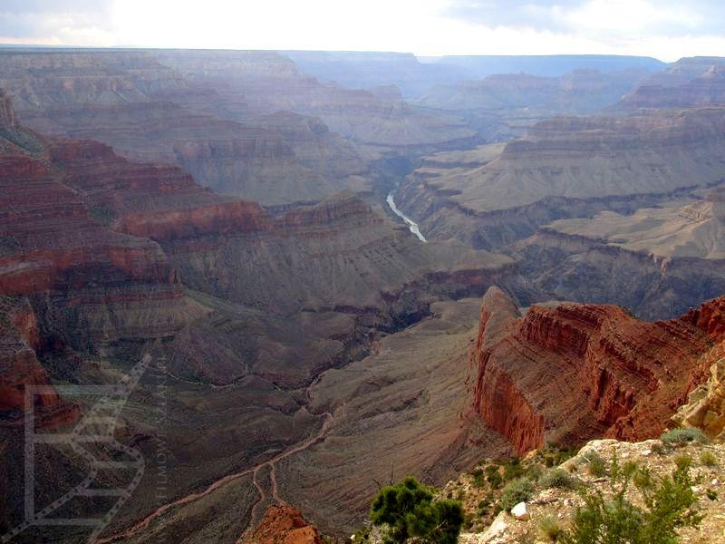 Rzeka w Wielkim Kanionie