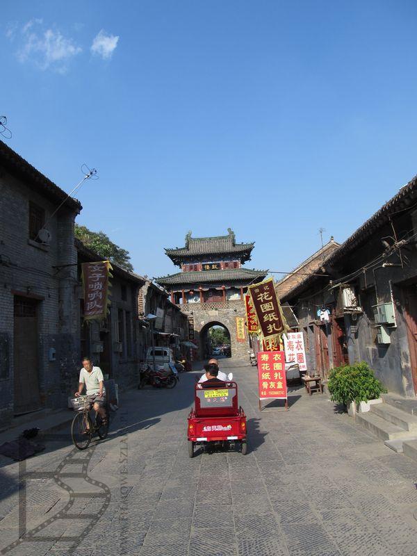 Luoyang, centrum i brama