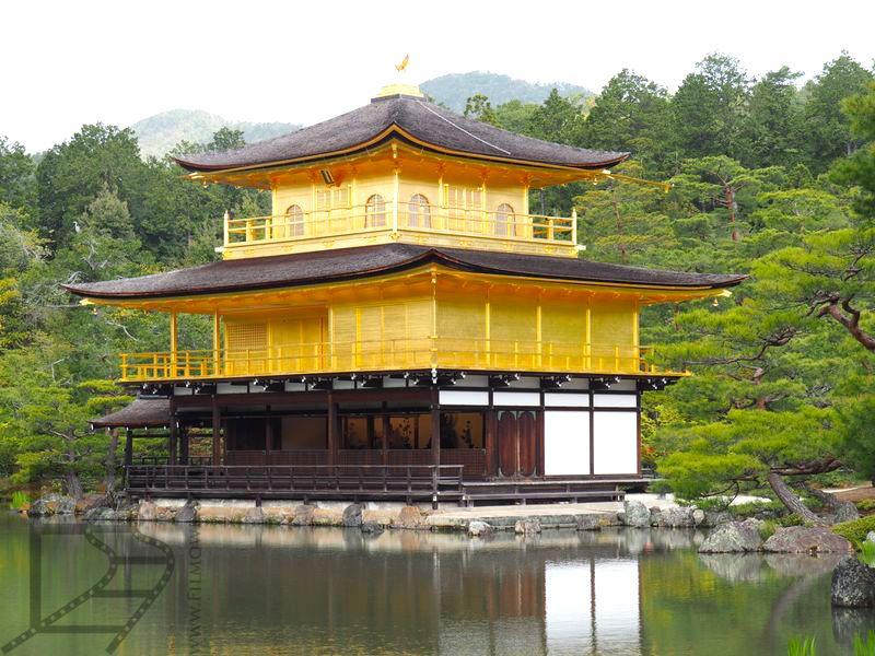 Złoty Pawilon w Kinkaku-ji (Kioto)