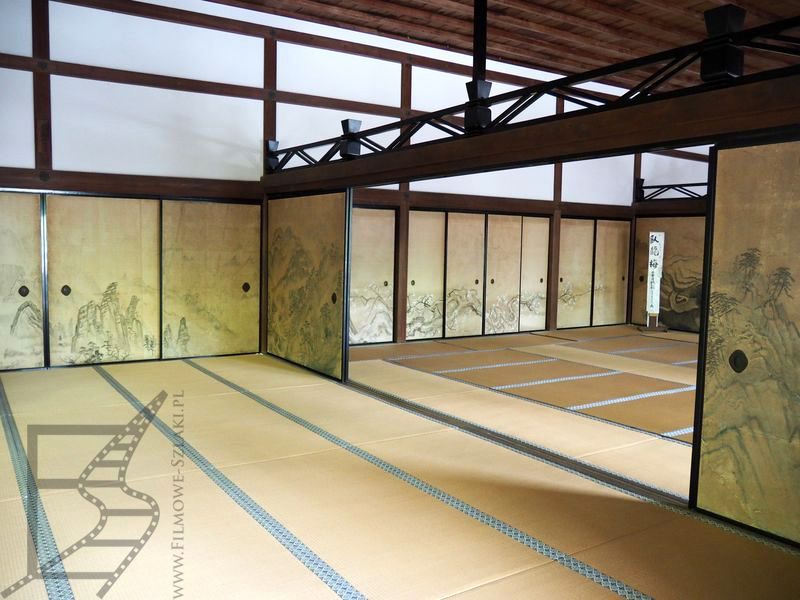 Wnętrza Ryōan-ji
