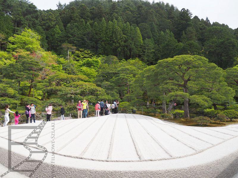 Ogród żwirkowy w Ginkaku-ji (Kioto)