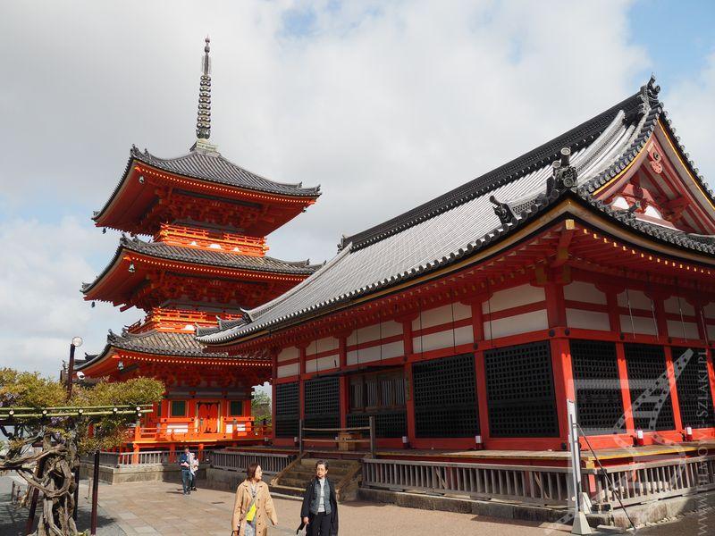Kompleks Kiyomizu-dera w Kioto