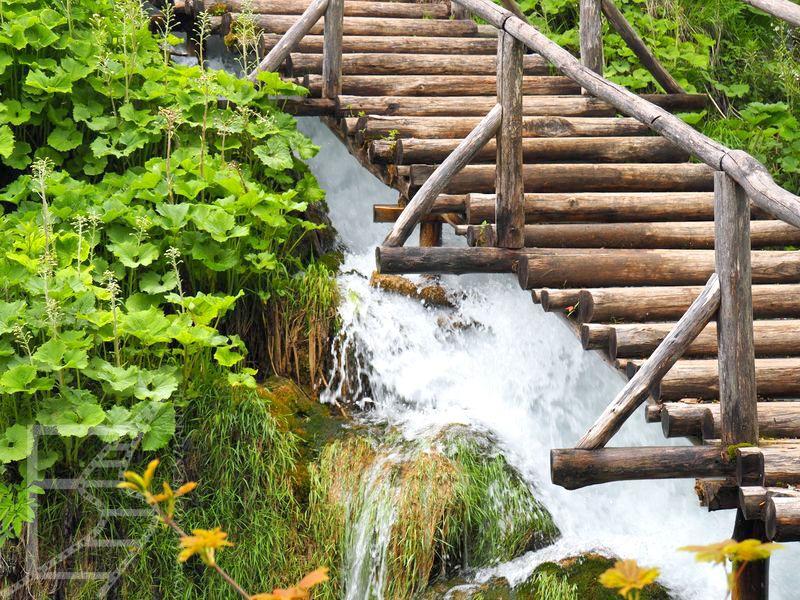 Trasa między wodospadami