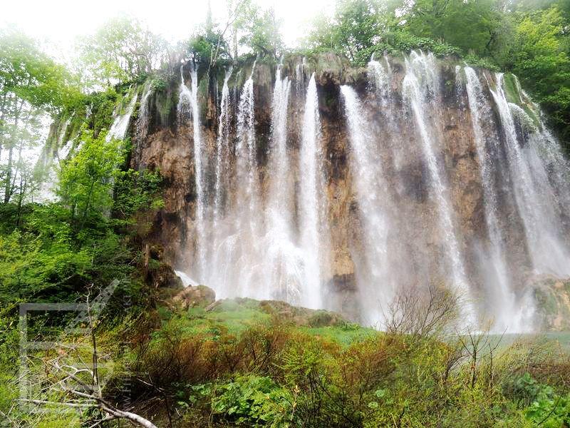 Jeden z wodospadów