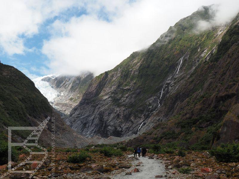 Okolice lodowca Franciszka Józefa