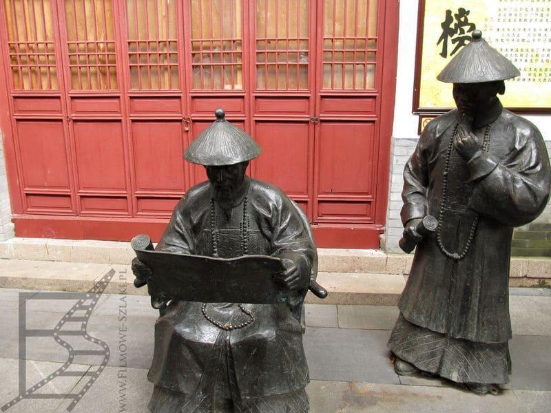 Nankin, pomniki upamiętniające dawny system nauczania