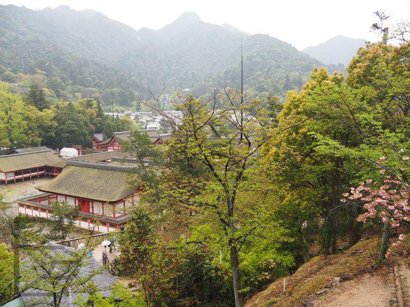 Świątynia w Miyajima (wyspa Itsukushima)