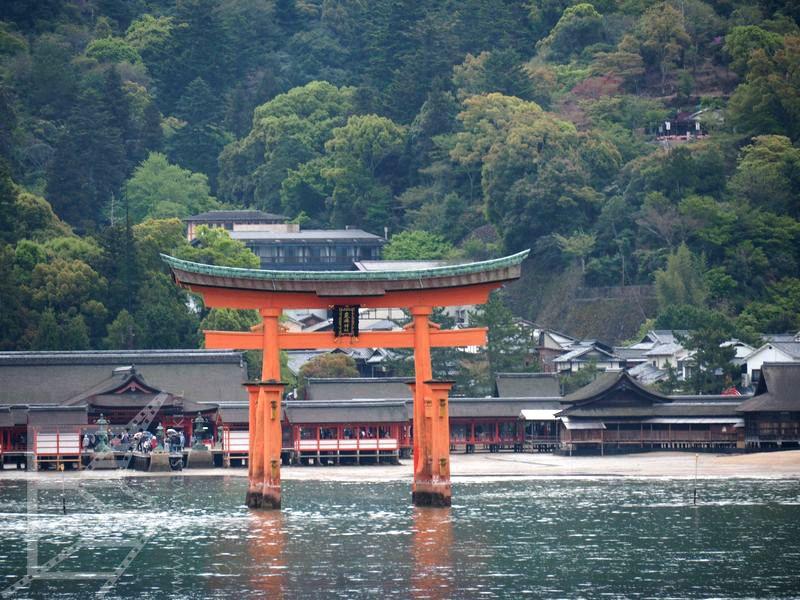 Brama Tori (Itsukushima)