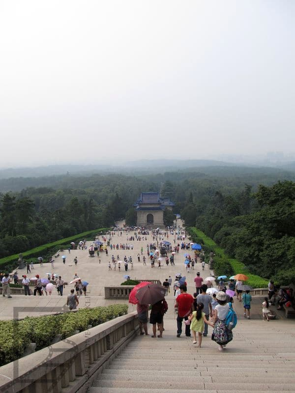 Mauzoleum  doktora Sun Jat-Sena (Nankin, Chiny)