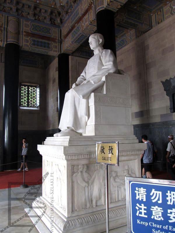 Doktor Sun Jat-sen, założyciel Republiki Chińskiej