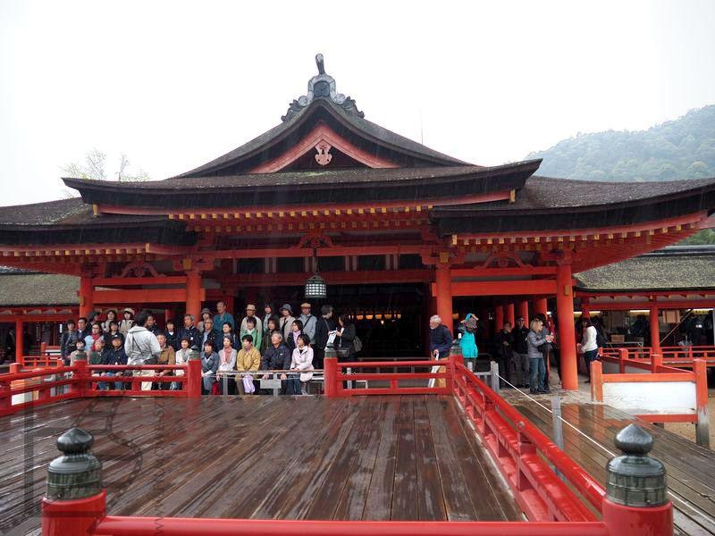 Świątynia w Miyajima