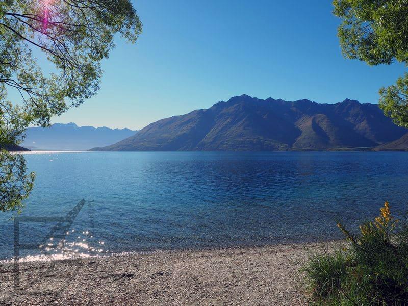 Obóz Faramira nad jeziorem Wakatipu