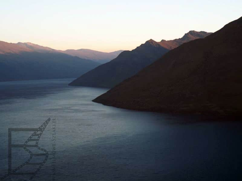 Jezioro Wakatipu (Queenstown, Nowa Zelandia)