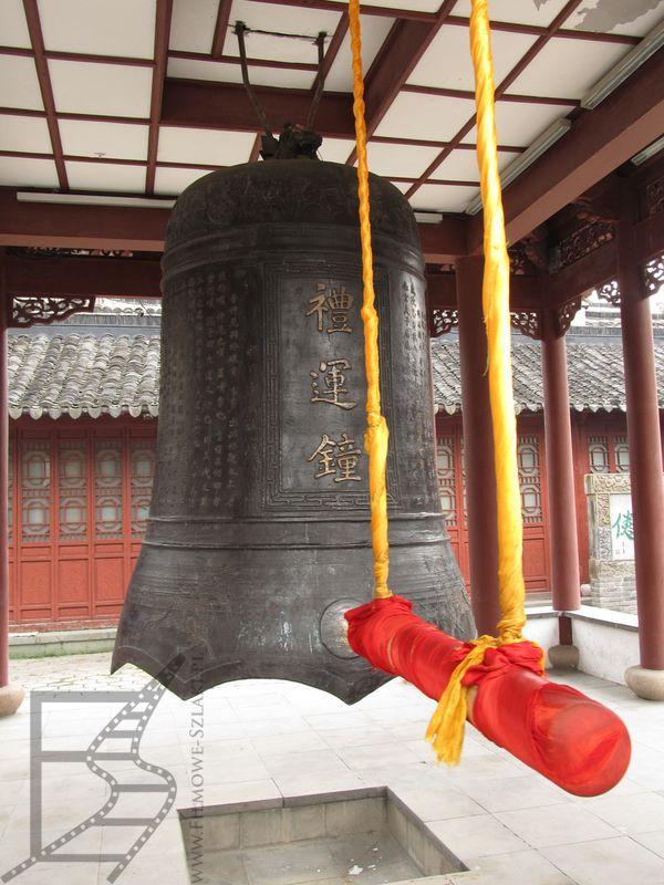 Gong w świątyni