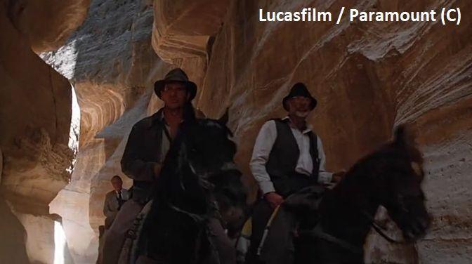 """Petra, Siq – czyli wąwóz w """"Indiana Jones i ostatnia krucjata"""""""