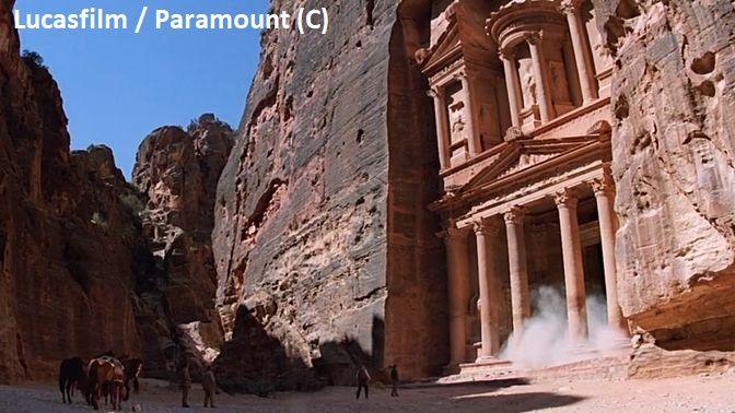 """Petra, Skarbiec – czyli Świątynia Graala w """"Indiana Jones i ostatnia krucjata"""""""