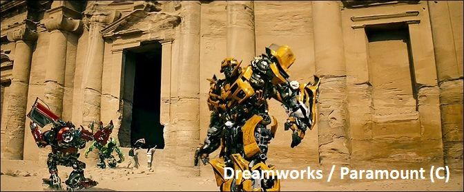 """""""Transformers: Zemsta upadłych"""" i Monastyr w Petrze"""