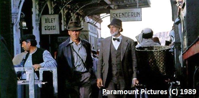 """Guadix udające stację kolejową w Iskenderun, """"Indiana Jones i ostatnia krucjata"""""""