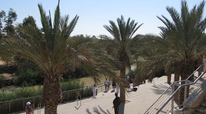 Rzeka Jordan, miejsce chrztu Jezusa