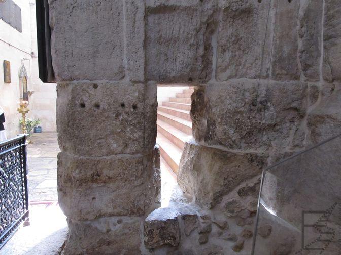 Ucho igielne, czyli dawna brama w Jerozolimie. Obecnie znajduje się np. w cerkwi Aleksandra Newskiego
