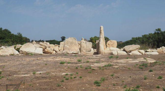 Megality, pozostałości prehistorycznych budowli na Malcie