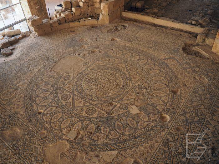 Mozaika pochodząca z czasów bizantyjskich (Madaba)