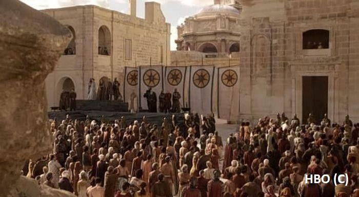 """Sept Baelora, """"Gra o tron"""" Malta, Fort Fort Manoel"""