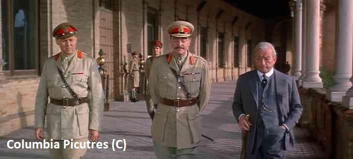 """""""Lawrence z Arabii"""" i Sewilla, plac Hiszpański"""