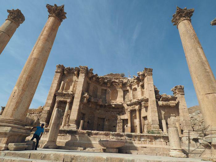 Dżarasz, pozostałości Nimfeum