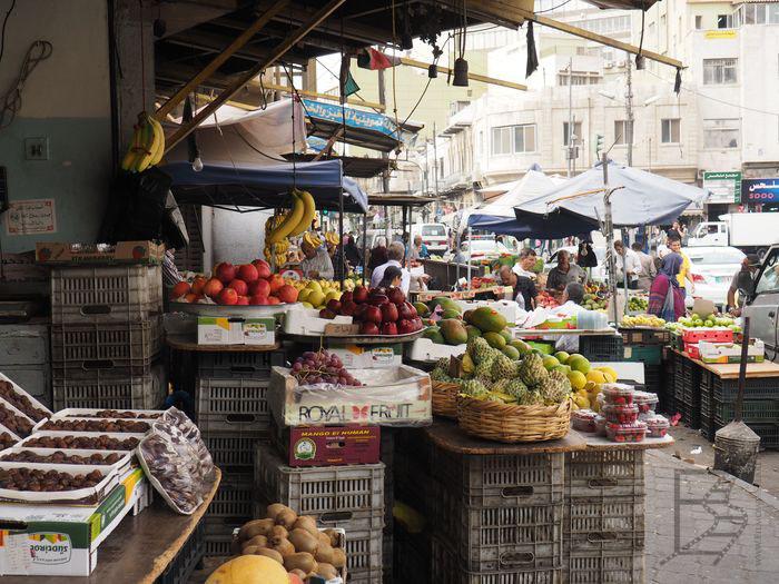 Amman: Medyna rozlewa się na całą okolicę. Trudno znaleźć początek, czy koniec.
