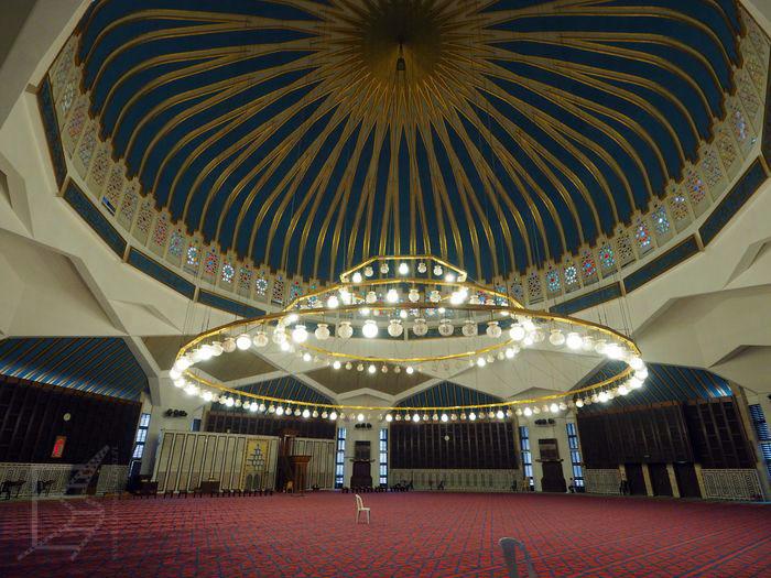 Meczet króla Abdullaha (Amman), można go zwiedzać.